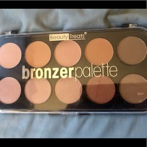 New w/o tags BeautyTreats fullsize Bronze palette
